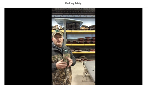 Racking Safety With Gregg
