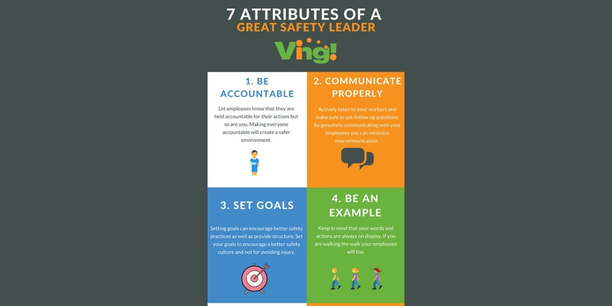 INFOGRAPHIC: 7 Attributes Of A Great Safety Leader