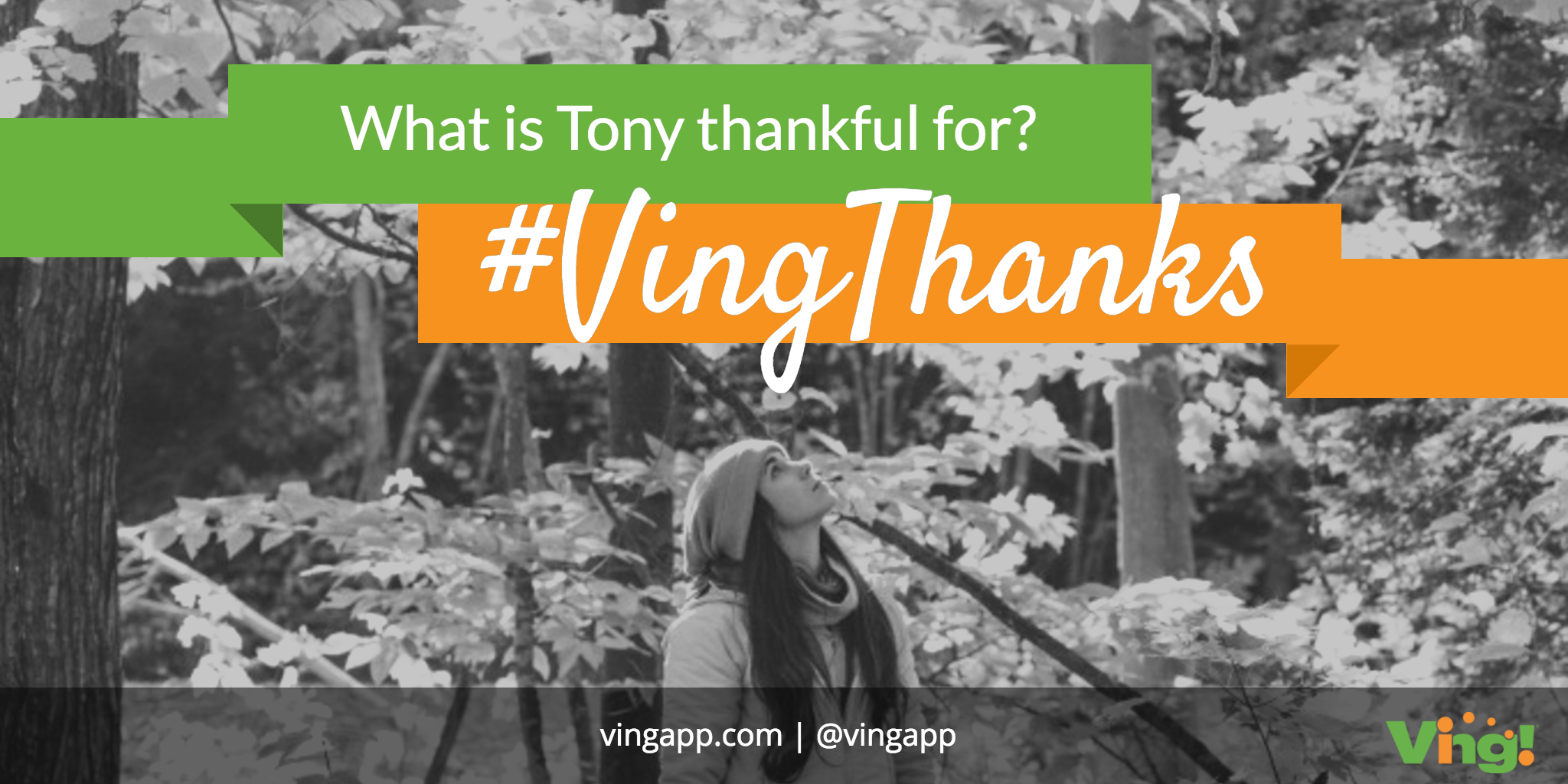 What Our Ving CEO Is Thankful For