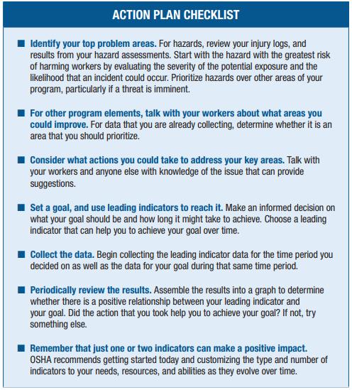 action plan checklist